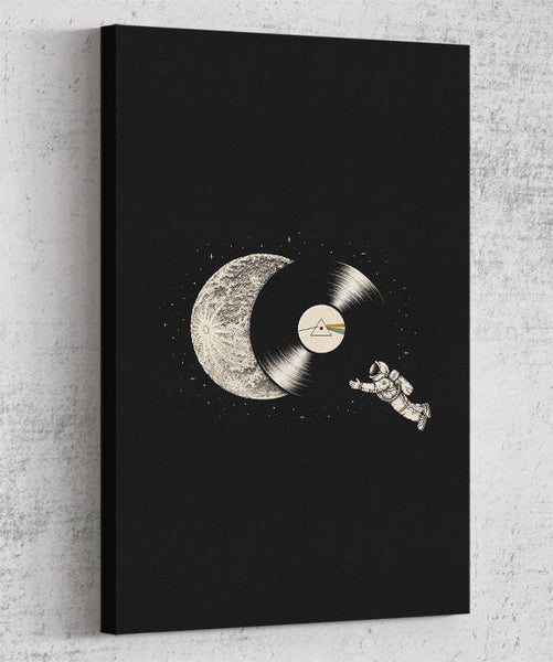 The Dark Side Of The Moon Canvas by Enkel Dika - Pixel Empire