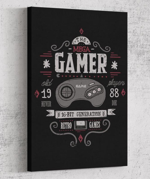 Mega Gamer Canvas by Typhoonic - Pixel Empire