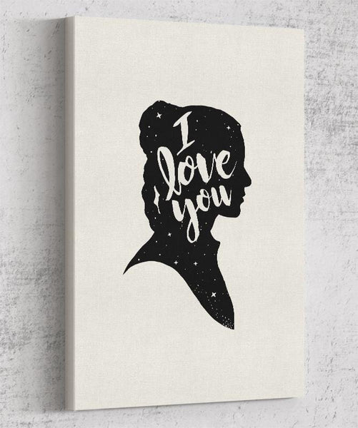 I Love You Canvas by Creative Outpouring - Pixel Empire