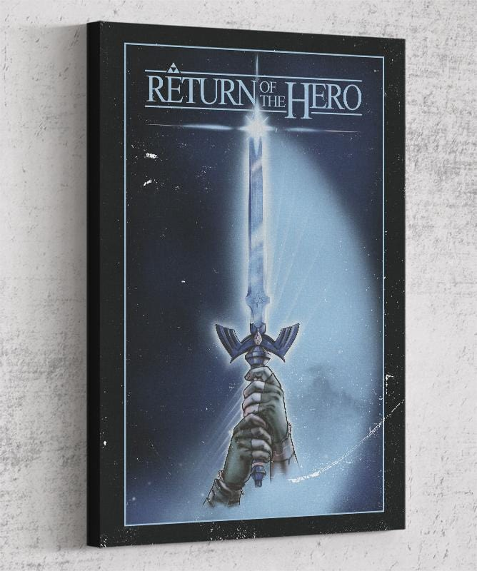 Return of The Hero Canvas by Creative Outpouring - Pixel Empire