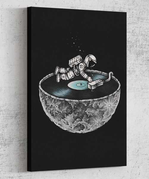 Space Tune Canvas by Enkel Dika - Pixel Empire