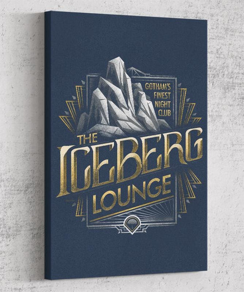 Iceberg Lounge Canvas by Cory Freeman Design - Pixel Empire