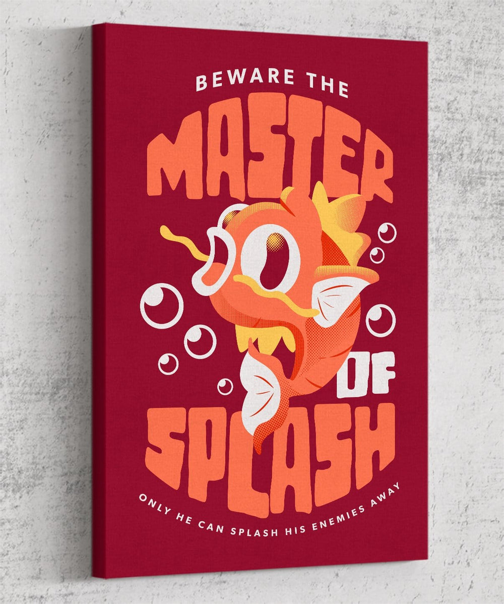 Master Of Splash Canvas by Andre Fellipe - Pixel Empire