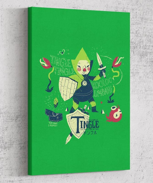 The Legend Of Tingle Canvas by Louis Roskosch - Pixel Empire