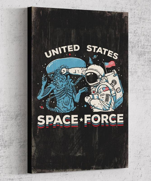 Space Force Canvas by Ronan Lynam - Pixel Empire