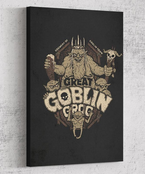 Great Goblin Grog Canvas by Cory Freeman Design - Pixel Empire