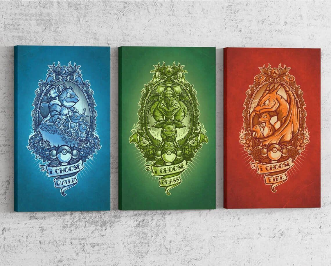 I Choose Starter Series Canvas by Juan Manuel Orozco - Pixel Empire