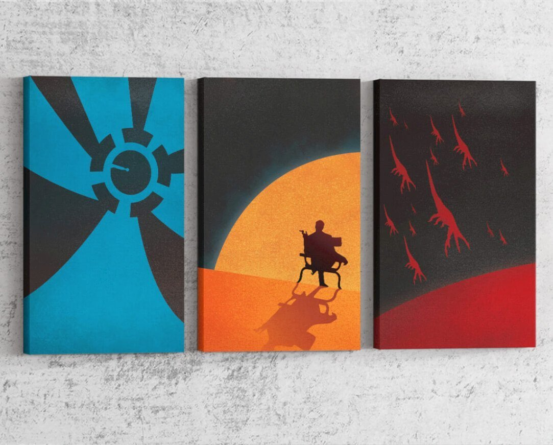 Mass Effect Series Canvas by Dylan West - Pixel Empire