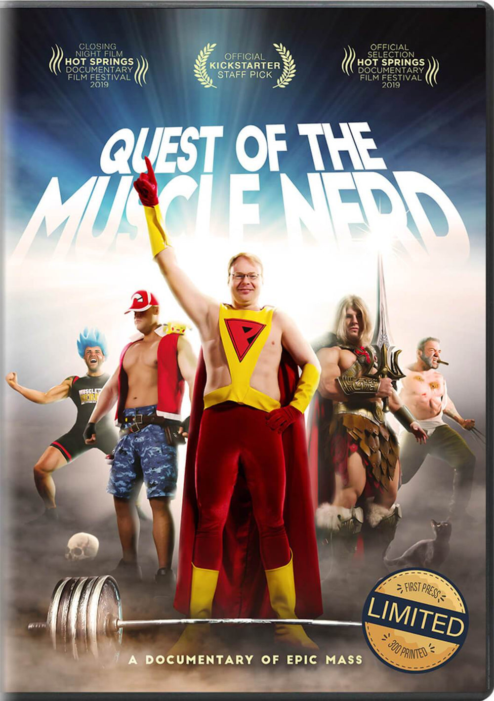 Quest of the Muscle Nerd DVD DVD by Muscle Nerd - Pixel Empire