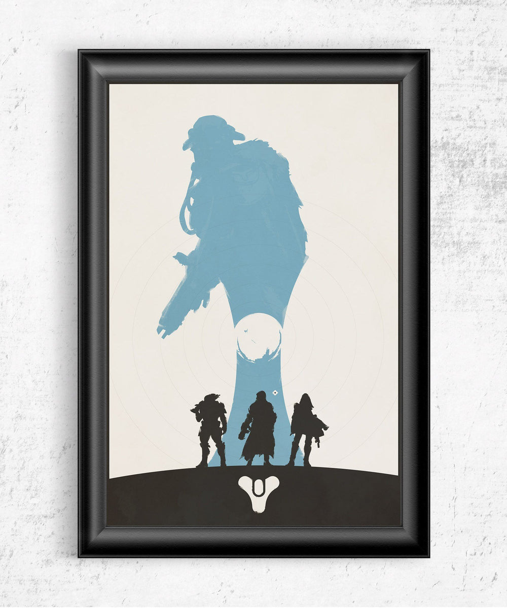 Destiny Posters by Felix Tindall - Pixel Empire