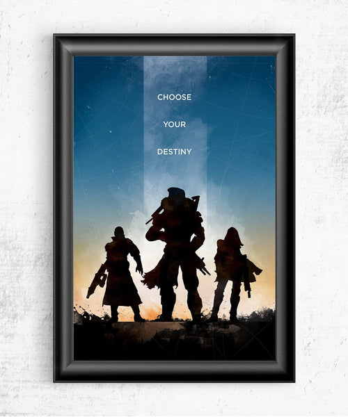 Destiny - Choose Your Destiny Posters- The Pixel Empire