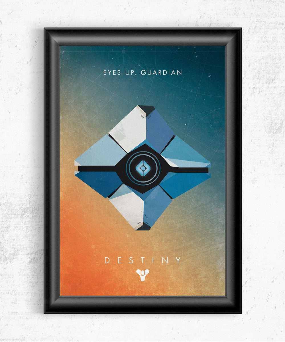 Eyes Up Guardian Posters by Dylan West - Pixel Empire