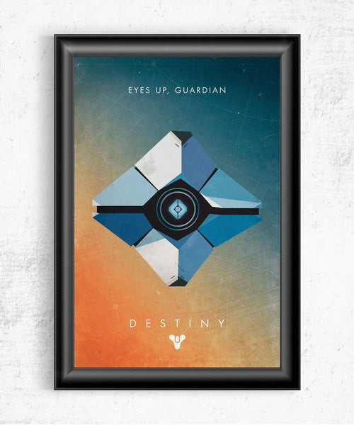 Eyes Up Guardian Posters- The Pixel Empire