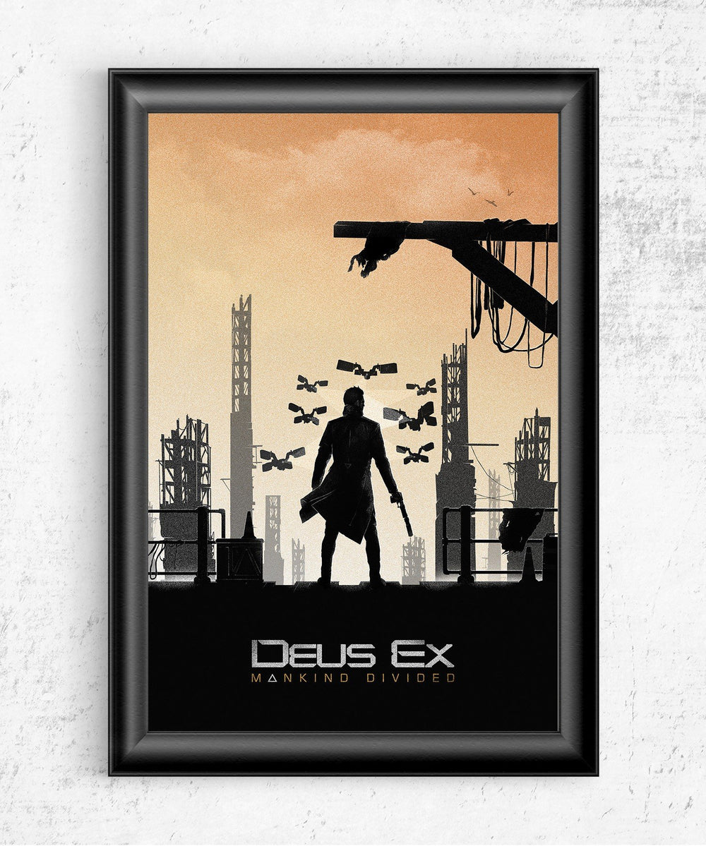 Deus Ex Posters by Felix Tindall - Pixel Empire