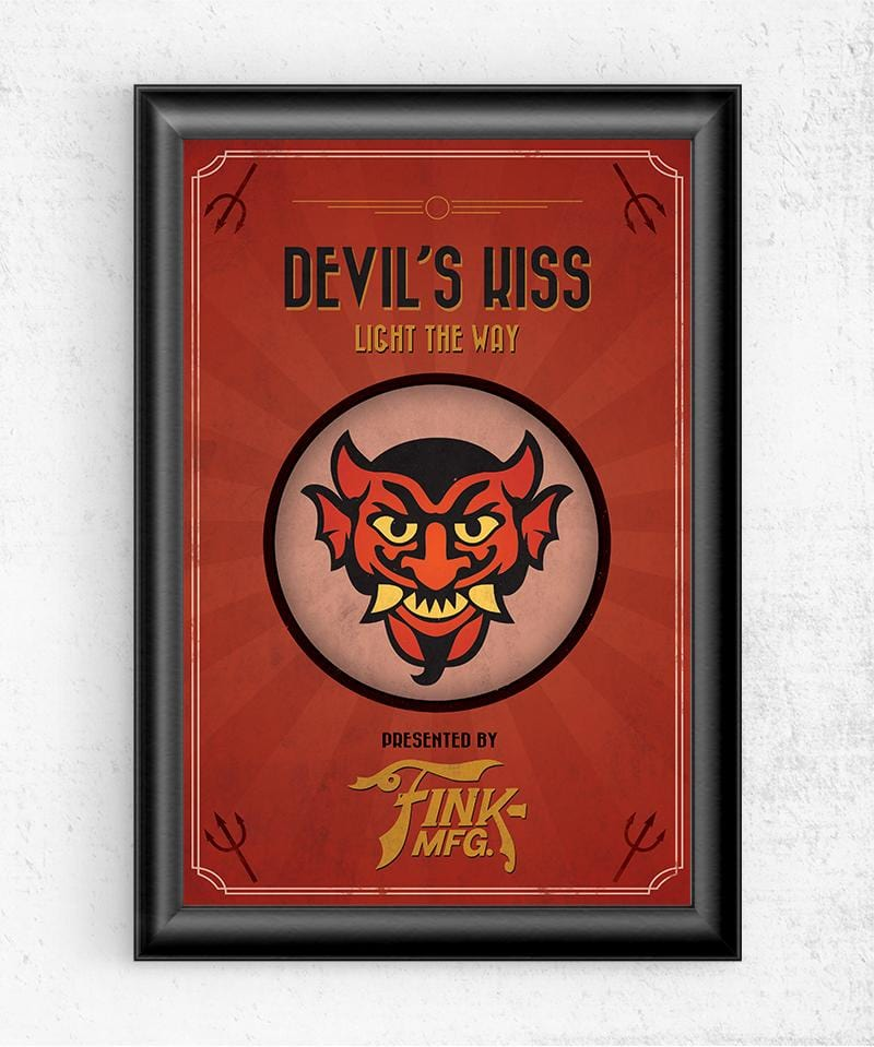 Bioshock Vigor Devil's Kiss Posters by Dylan West - Pixel Empire