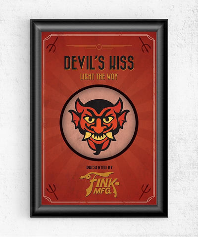 Bioshock Vigor Devil's Kiss Posters- The Pixel Empire