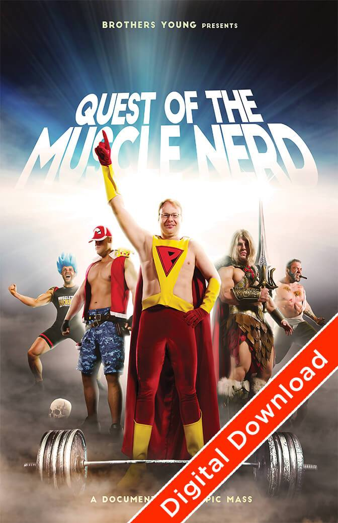 Quest of the Muscle Nerd Digital Download Download by Muscle Nerd - Pixel Empire
