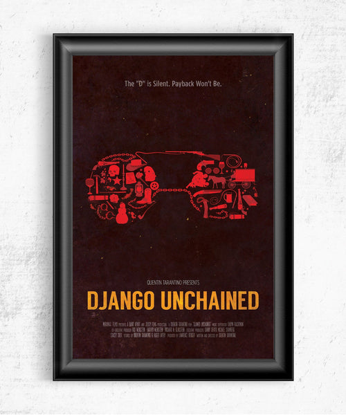 Django Unchained Posters by Dylan West - Pixel Empire