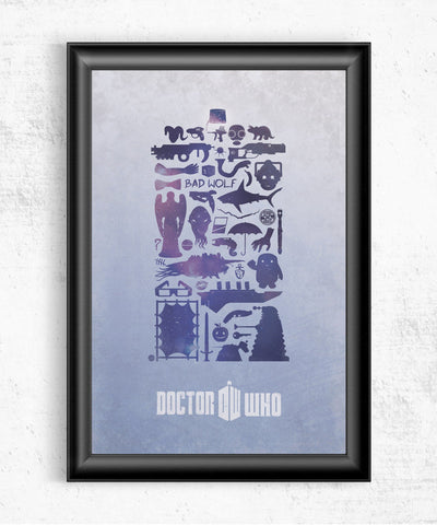 Timey Wimey Posters- The Pixel Empire