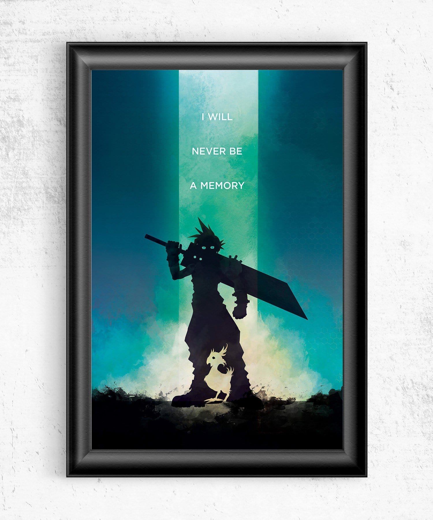 Final Fantasy VII - I Will Never Be a Memory Posters by Dylan West - Pixel Empire
