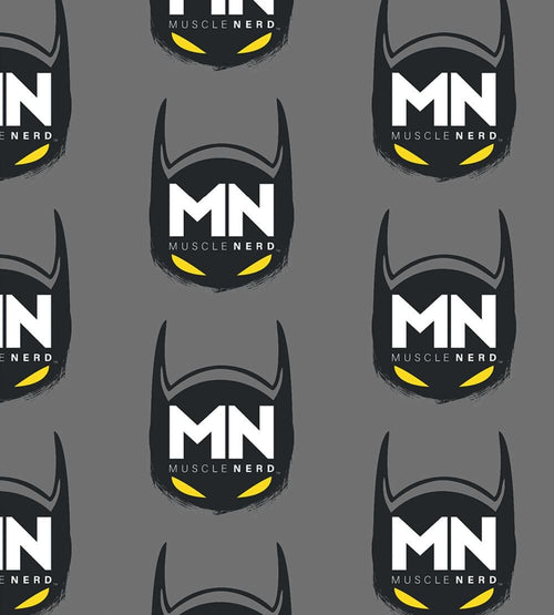 Bat Muscle Nerd Face Masks by Muscle Nerd - Pixel Empire