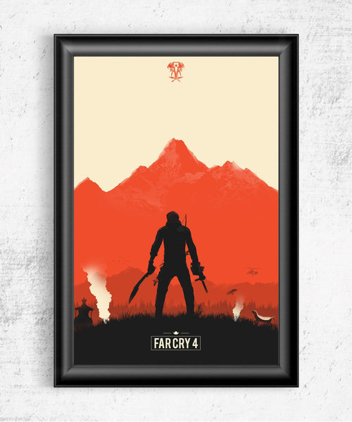 Far Cry 4 Posters by Felix Tindall - Pixel Empire