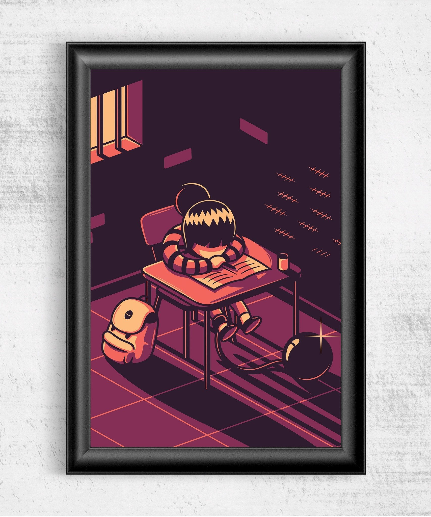 Forced Indoctrination Posters by Elia Colombo - Pixel Empire