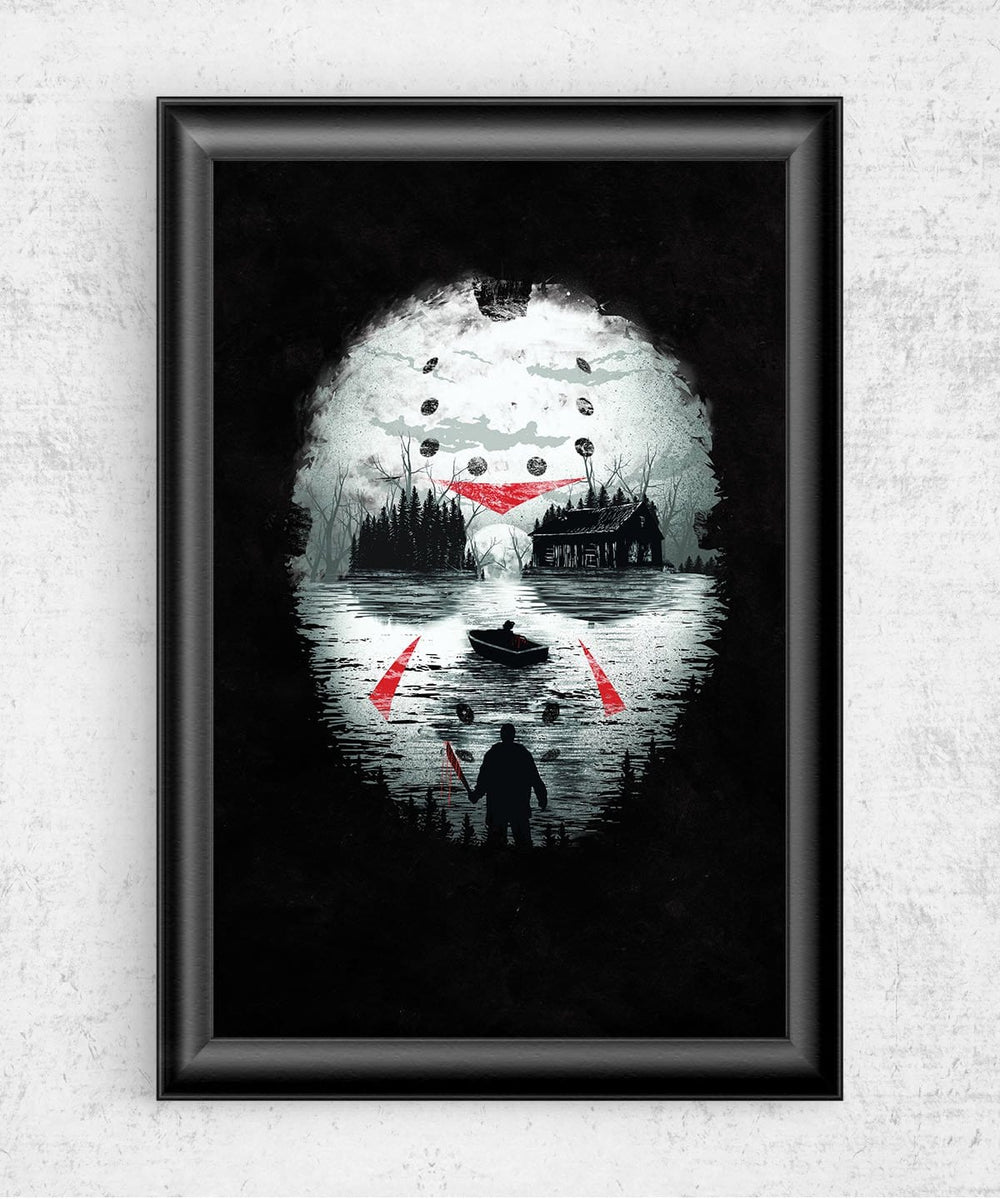 Friday Night Terror Posters by Dan Elijah Fajardo - Pixel Empire