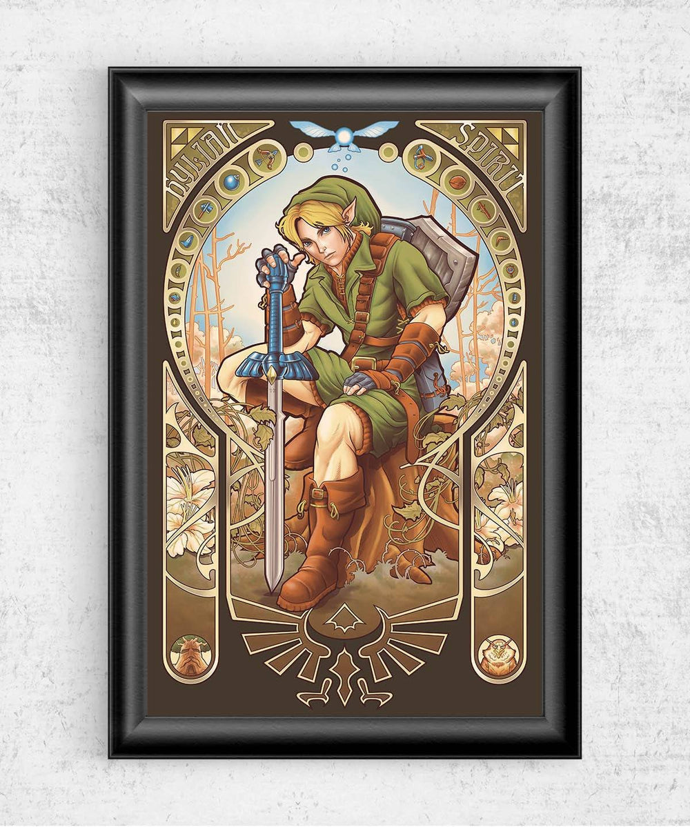Hylian Spirit Posters by Saqman - Pixel Empire
