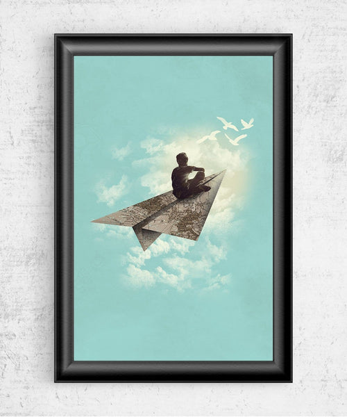 Paper Airplane Posters by Dan Elijah Fajardo - Pixel Empire