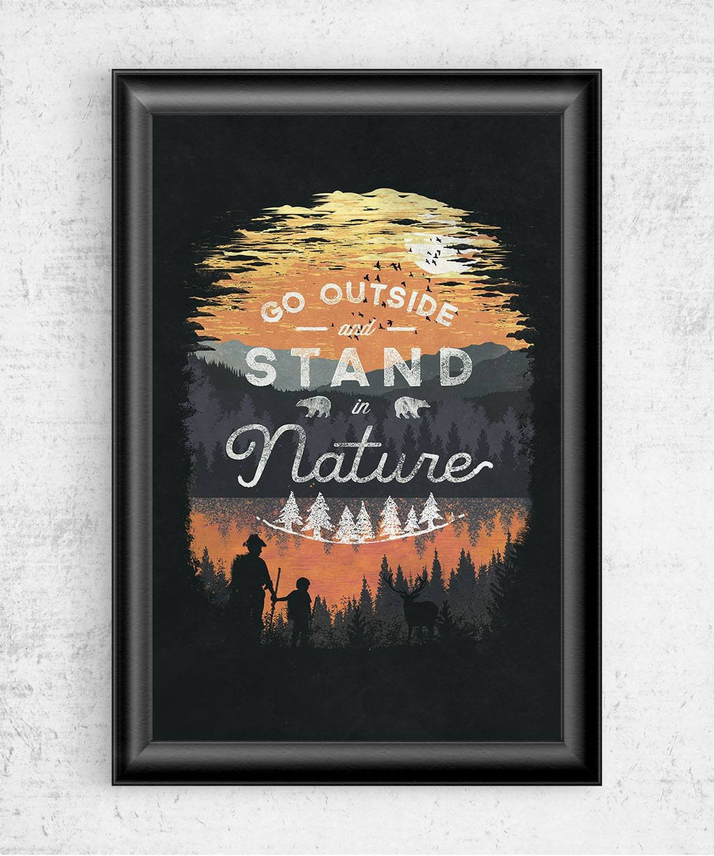 Go Outside Posters by Dan Elijah Fajardo - Pixel Empire