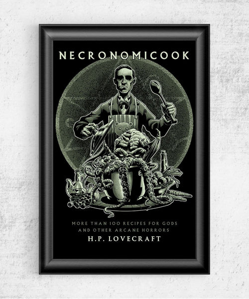 Necronomicook Posters by Saqman - Pixel Empire