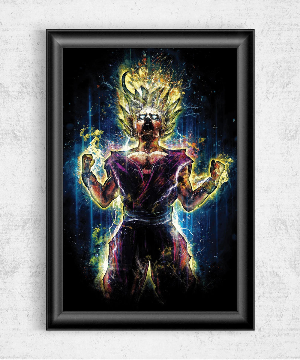 Gohan Posters by Barrett Biggers - Pixel Empire