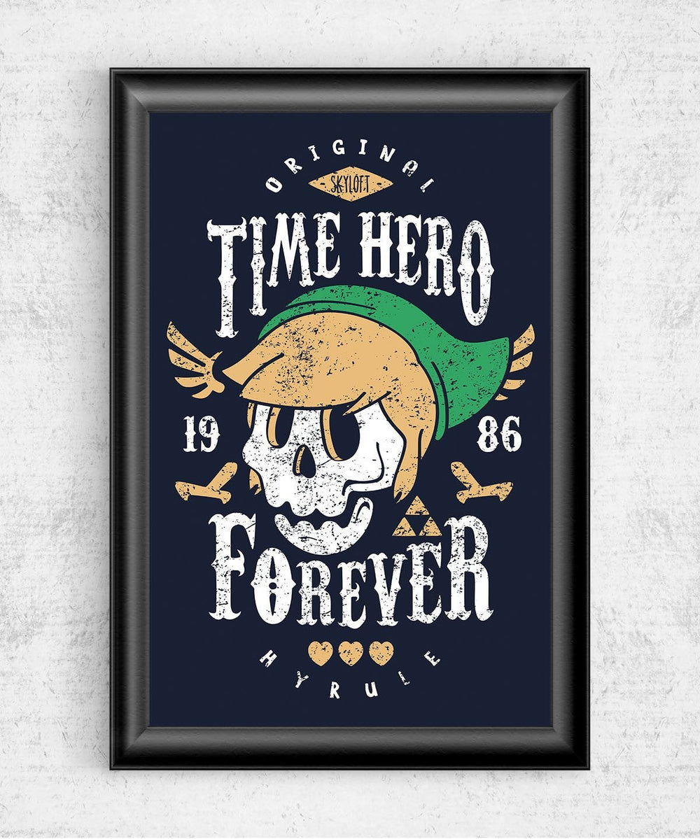 Time Hero Forever Posters by Olipop - Pixel Empire