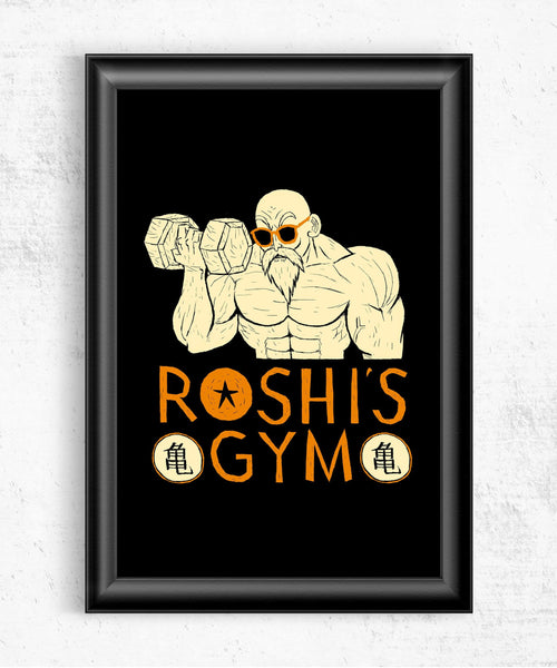 Roshi's Gym Posters by Louis Roskosch - Pixel Empire