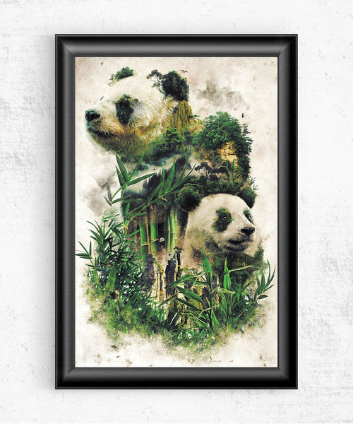 Panda Montage Posters by Barrett Biggers - Pixel Empire