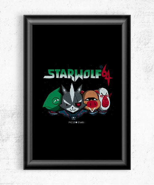 Starwolf Posters by Louis Roskosch - Pixel Empire