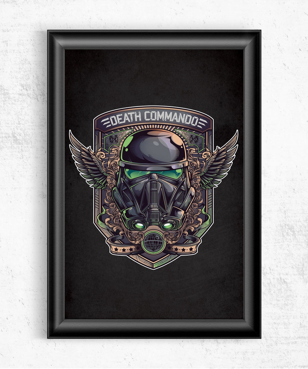 Death Commando Posters by Juan Manuel Orozco - Pixel Empire