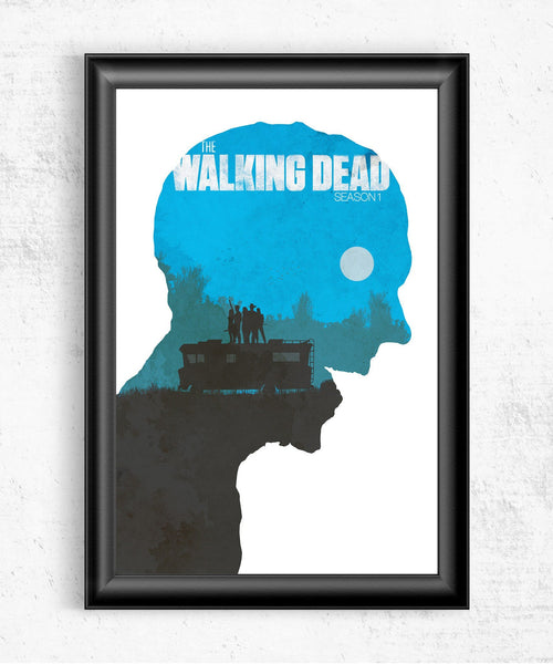 The Walking Dead Season 1 Posters- The Pixel Empire