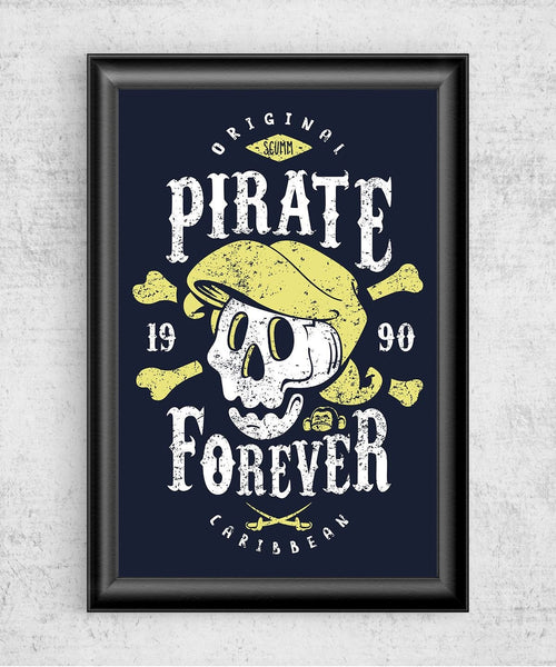 Pirate Forever Posters by Olipop - Pixel Empire