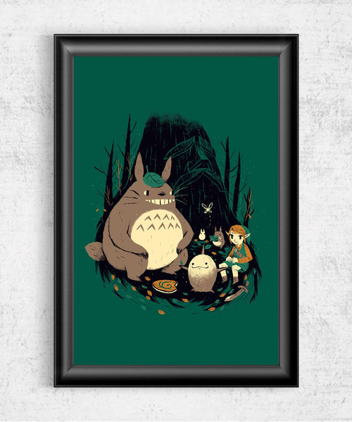 Spirits of the Forest Posters by Louis Roskosch - Pixel Empire