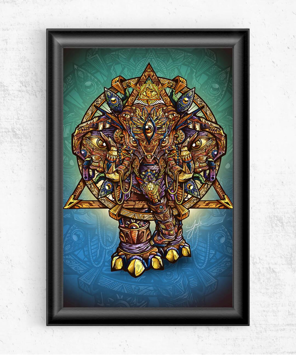 Elephant of Dreams Posters by Juan Manuel Orozco - Pixel Empire
