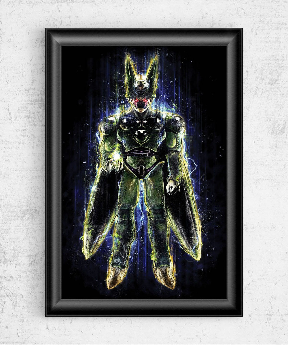Perfect Cell Posters by Barrett Biggers - Pixel Empire