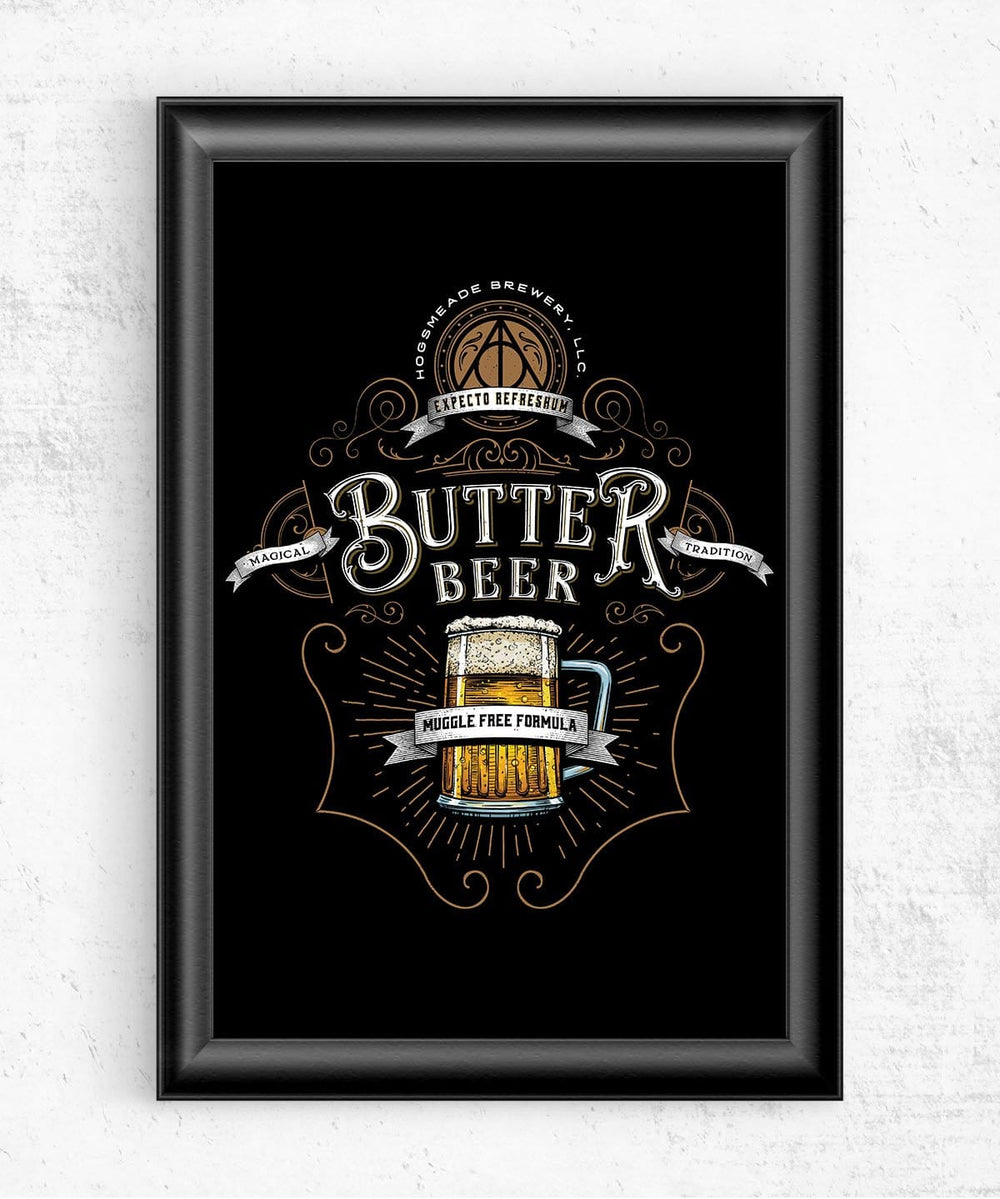 Butterbeer Posters by Barrett Biggers - Pixel Empire