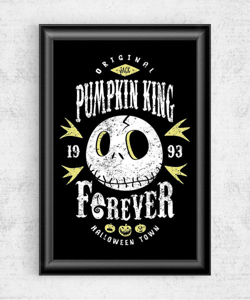 Pumpkin King Forever Posters by Olipop - Pixel Empire