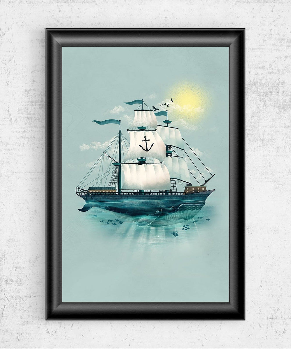 The Whaleship Posters by Dan Elijah Fajardo - Pixel Empire