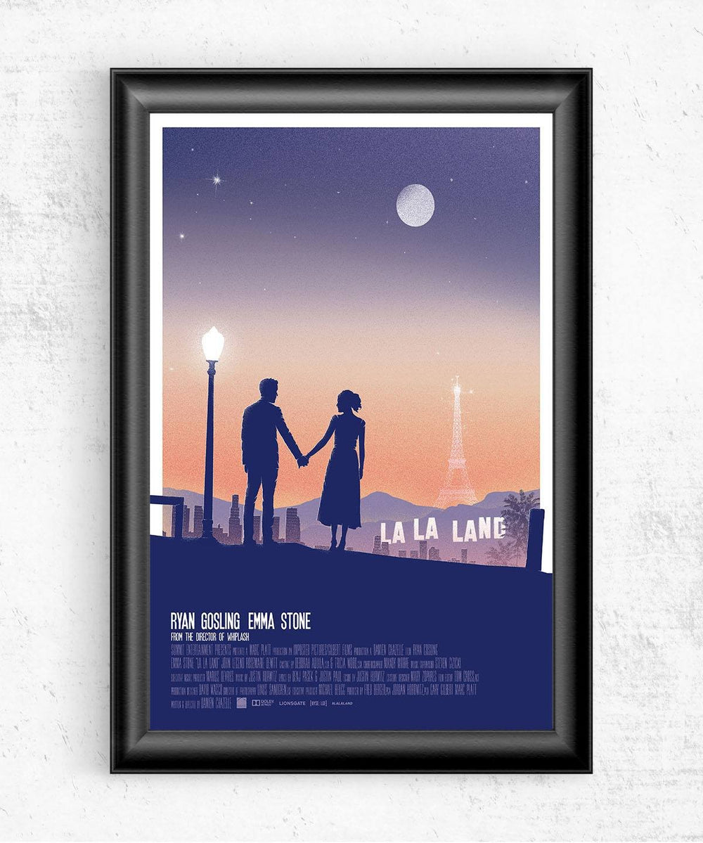 La La Land Posters by Felix Tindall - Pixel Empire