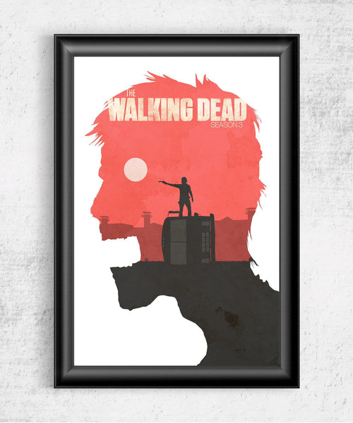 The Walking Dead Season 3 Posters by Felix Tindall - Pixel Empire
