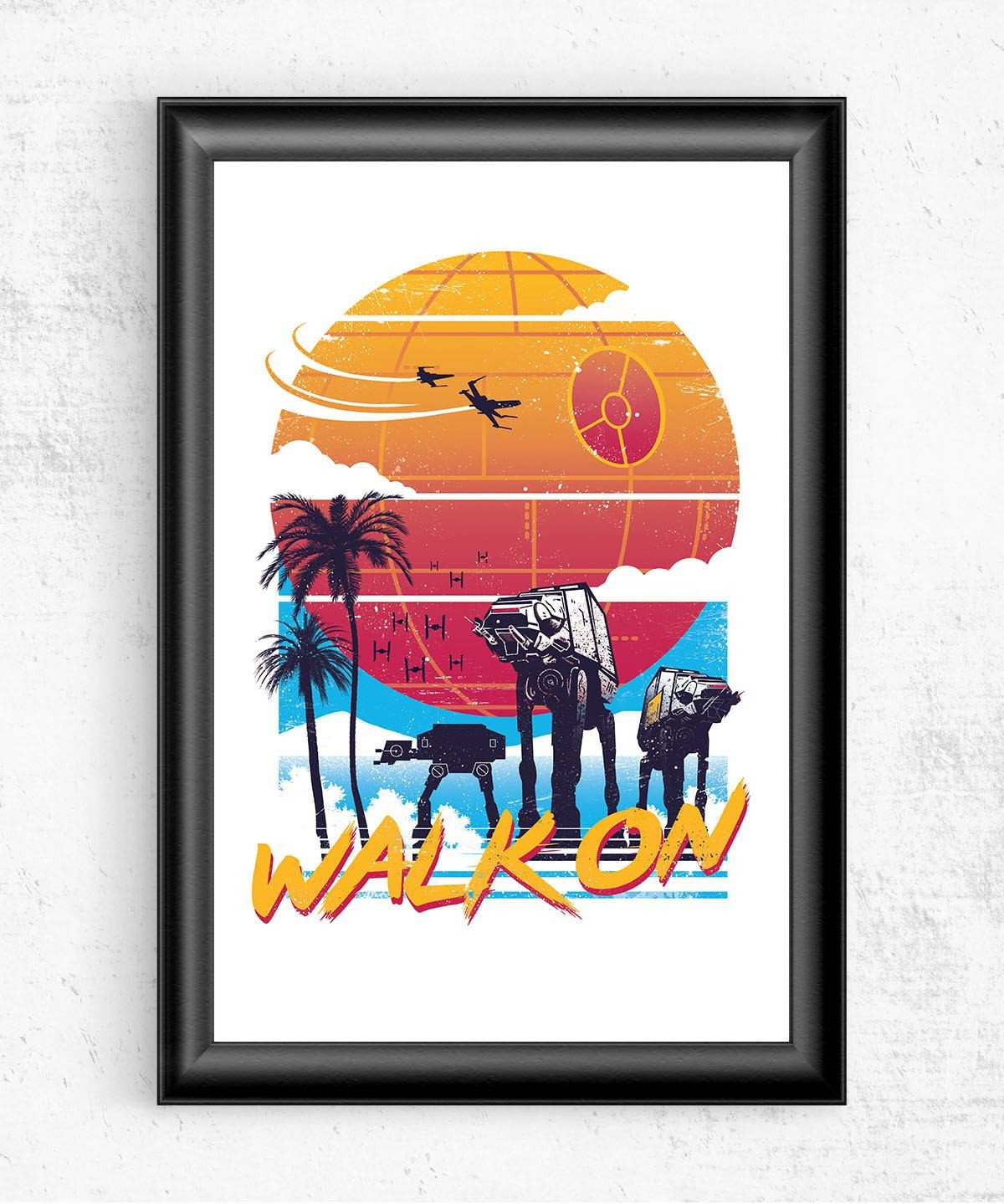 Walk On Posters by Vincent Trinidad - Pixel Empire