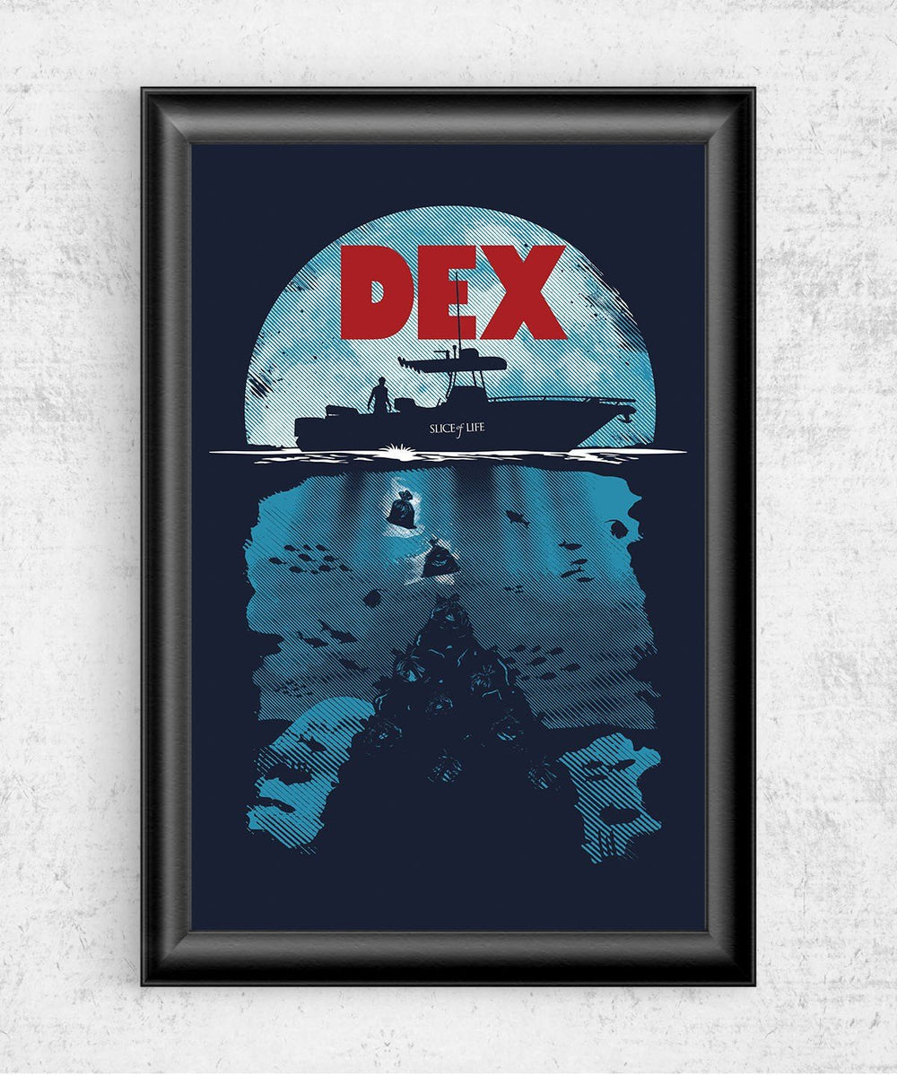 Dex Posters by Olipop - Pixel Empire